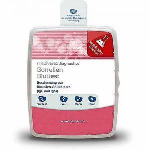 Der Borreliose Bluttest diagnostiziert die Infektion des menschlichen Organismus mit Borrelien.