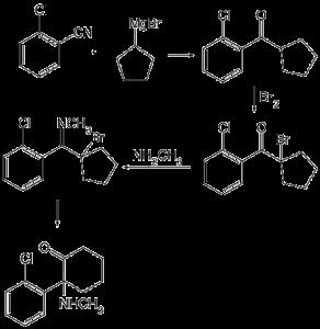 Ketamin-Synthese: Die Substanz hat ein starkes Abhängigkeitspotenzial.