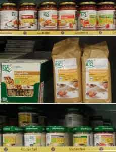 Glutenfreie Lebensmittel helfen bei Glutenunverträglichkeit.