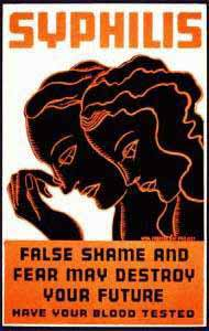 Falsche Scham ist kontraproduktiv bei Syphilis!