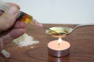 Heroin hat unter den Drogen das höchste Abhängigkeitspotenzial.