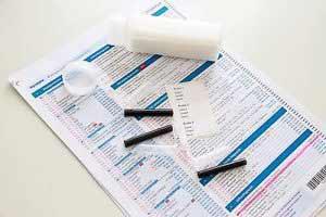 Auf Basis einer Speichelprobe kann mit dem Progesteron Test ein Progesteronmangel diagnostiziert werden.
