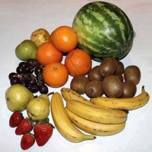 Obst enthält viel Fructose und sollte deshalb bei Fructoseintoleranz mit Bedacht verzehrt werden.