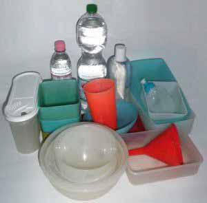 Bisphenol A dient als Ausgangssubstanz in der Kunststoffproduktion.